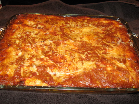 Tony's Best Lasagna | Busy Nothings