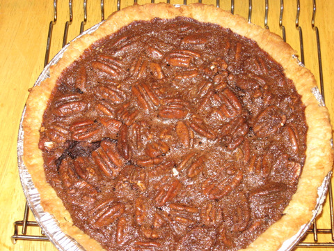 Texas Pecan and Chocolate Pie