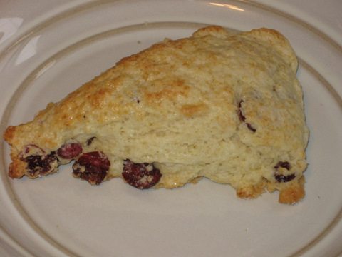 Craisin Buttermilk Scone
