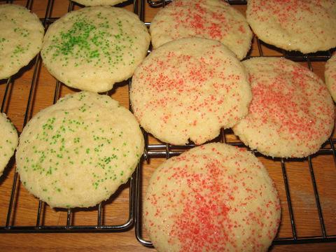 Grandma Gert's Sour Cream Sugar Cookies
