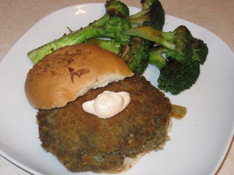 Mushroom Kasha Burger